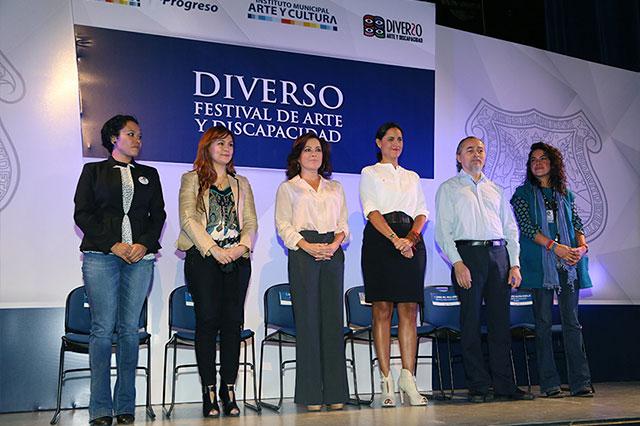 Dinorah López de Gali inaugura festival de arte y discapacidad