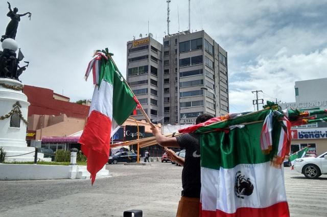 Luce desinflado el festejo en Puebla por victoria de México