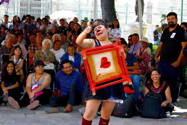 Festival de música y baile en el Parque del Carmen, en Puebla