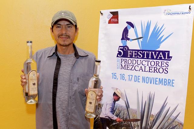 Anuncian quinto Festival del Mezcal en Tochimiltzingo