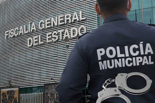 Ahora detiene la FGE a policías municipales de Quecholac