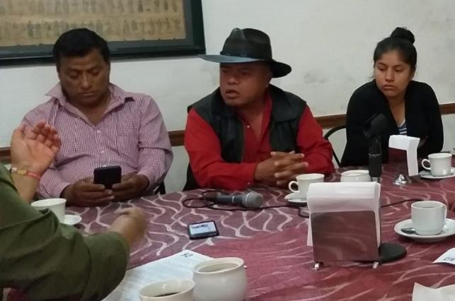 Protestan en Tehuacán por citatorio de FGE a opositor a megaproyectos