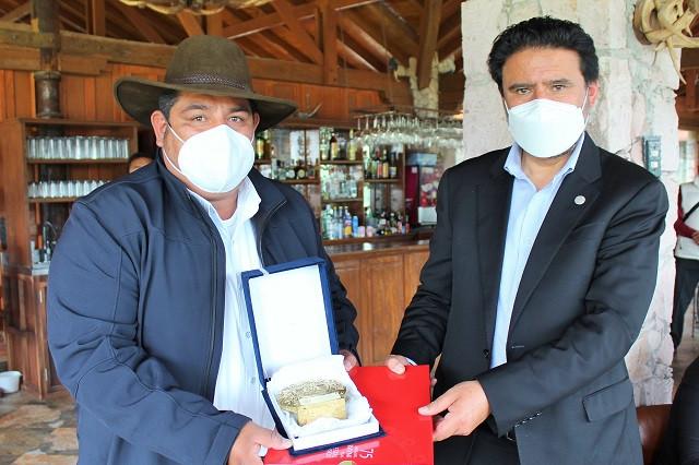 Haras, sede del acuerdo de hermandad Amozoc-Cusco, Perú