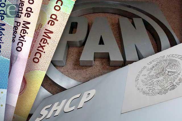 PAN exige a SHCP transparentar 68 mmdp de fideicomisos extintos