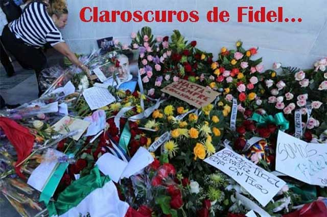 Claroscuros de Fidel Castro, bajo la mirada del mexicano