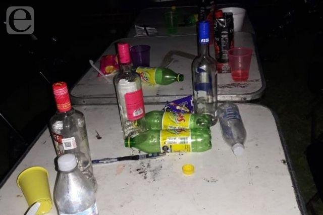 Clausuran fiesta Covid en Izúcar con más de 200 jóvenes