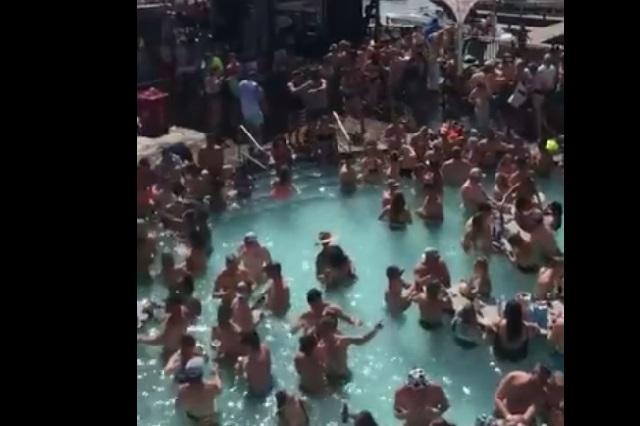 Video: Exhiben a cientos de personas en fiesta en Estados Unidos