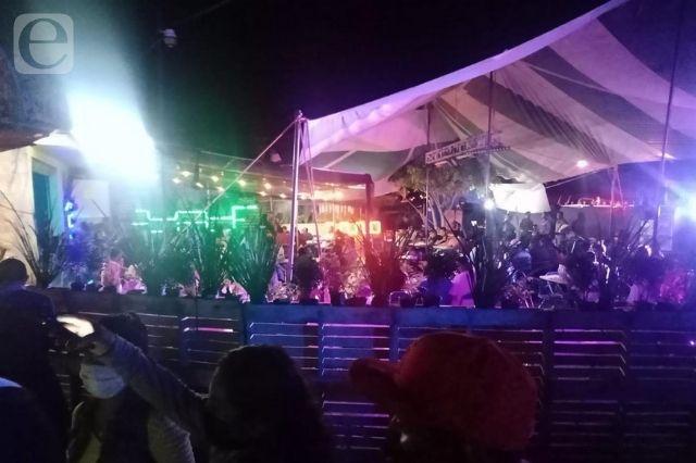 Clausuran otra fiesta Covid en Izúcar de Matamoros