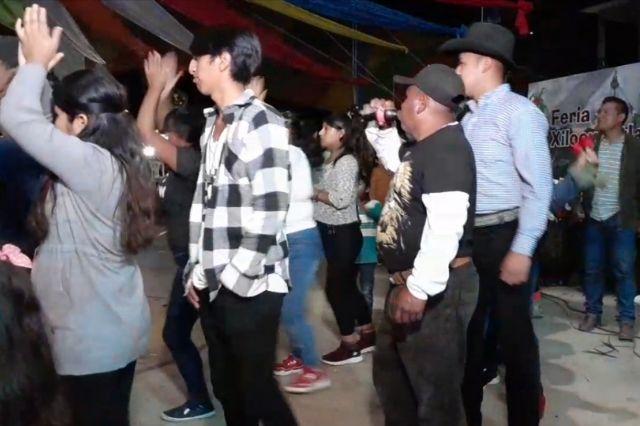 Festejan a Santiago Apóstol en Huauchinango pese a Covid-19