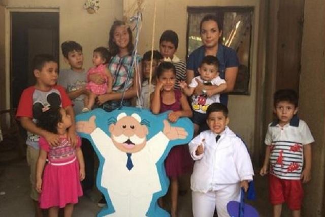 Niño se hace viral por pedir su fiesta de Dr. Simi