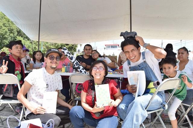 Cuarta Fiesta del Libro, del IMACP, en San Jerónimo Caleras