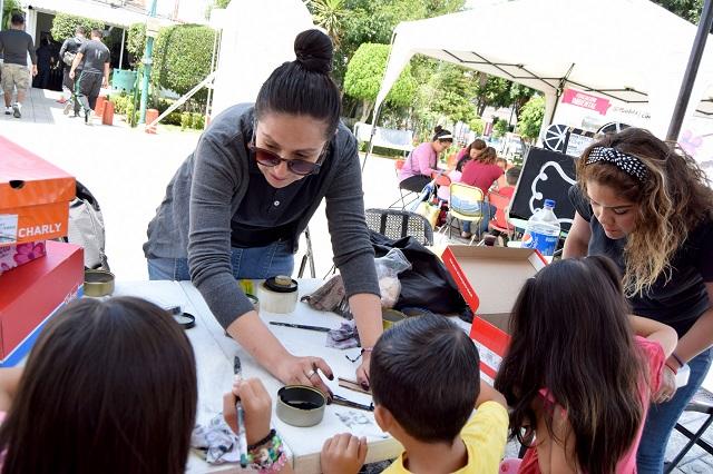 Cuarta Fiesta del Libro, del IMACP, en San Jerónimo Caleras - e-consulta