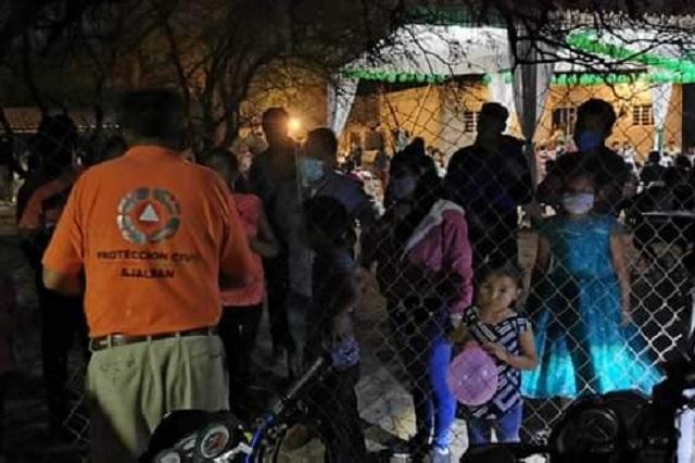Realizan operativo intermunicipal y suspenden seis fiestas clandestinas