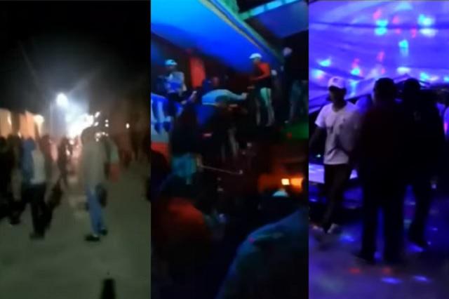 En plena Fase 3 continúan fiestas clandestinas en Estado de México