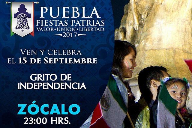 Todo lo que debes saber sobre la celebración de Fiestas Patrias en Puebla