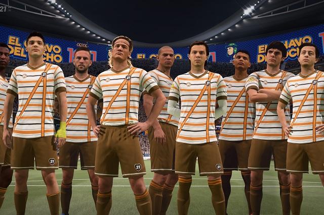 FIFA 21 homenajea a Gómez Bolaños con uniforme del 'Chavo del 8'