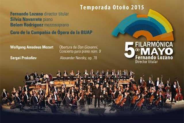 La Filarmónica 5 de Mayo se presenta en Bellas Artes