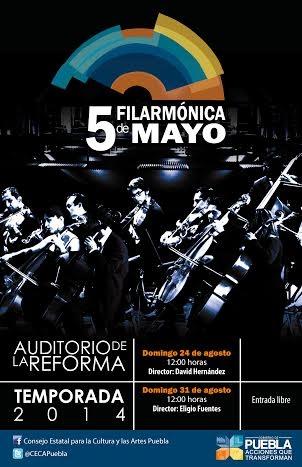 Filarmónica 5 de Mayo inicia Temporada de Verano 2014 | e