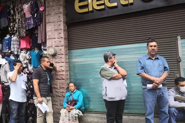 Sin medidas preventivas en bancos de Teziutlán