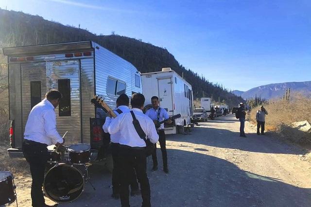 Suspenden filmación en Zapotitlán por conflicto entre comuneros