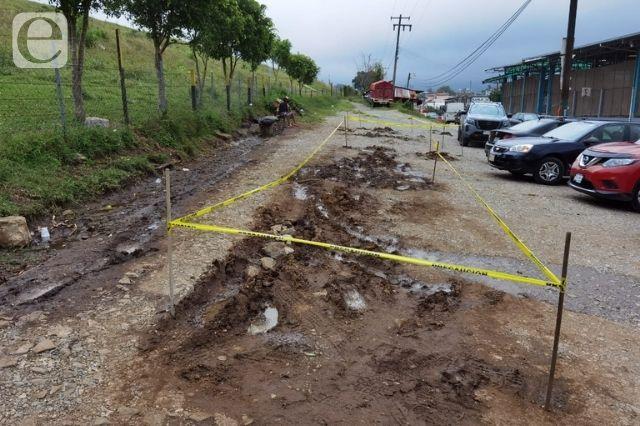 Preocupa filtración de agua en muro de presa de Tenango