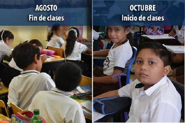 Pide Barbosa retomar clases en agosto y nuevo ciclo en octubre