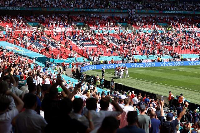 Final de la Eurocopa se jugará con 45 mil aficionados en Wembley