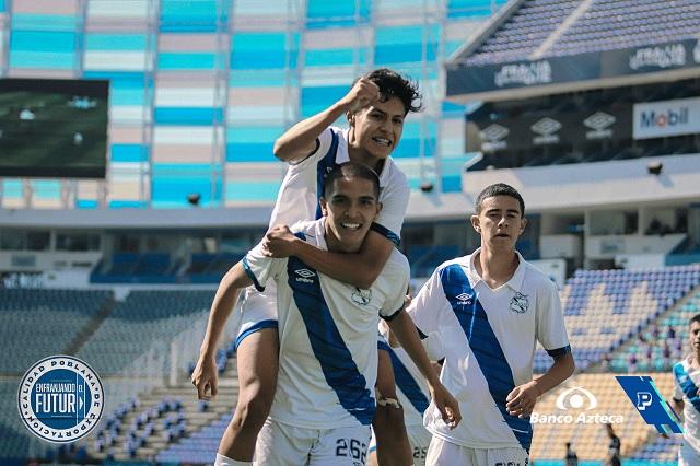 Puebla Sub 17 se lleva la Final de ida; gana 3-1 ante Necaxa