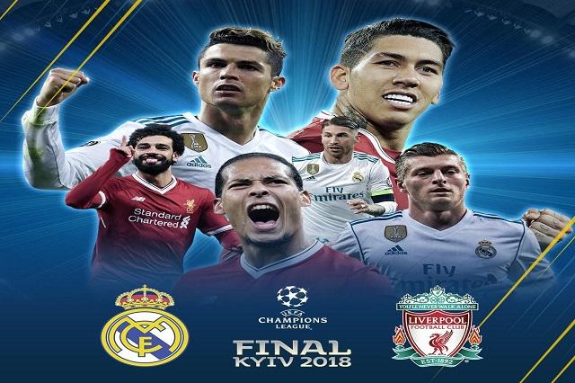 Real Madrid- Liverpool, la final de la Champions League