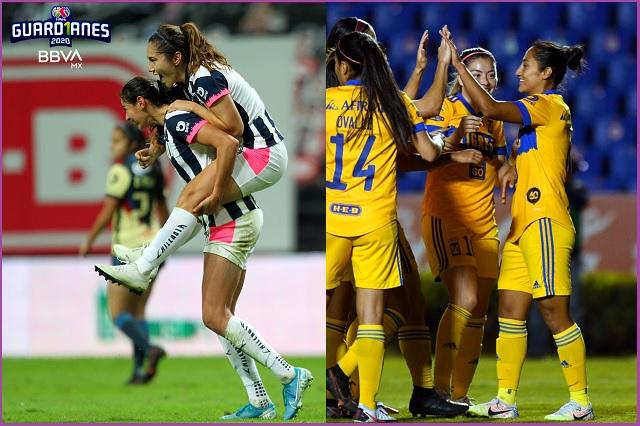 Habrá final regia en Liga MX Femenil: Tigres y Monterrey van por la gloria