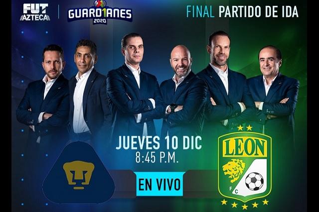 Final de Liga MX entre Pumas y León también irá por TV Azteca