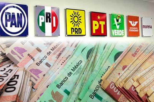 Con 287 mdp forrarán a partidos políticos en Puebla para 2022