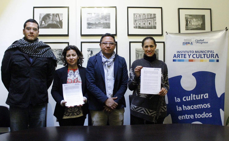Firma IMACP convenio con la Red Internacional de Creadores Visuales