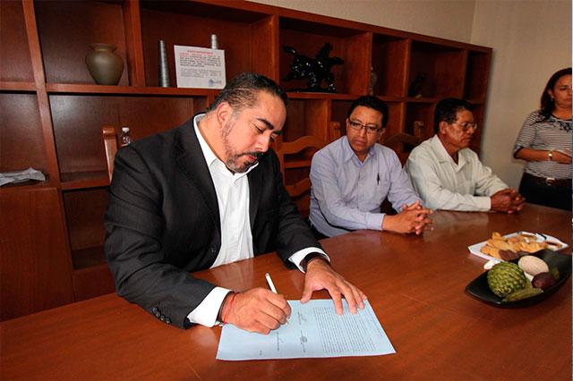 Construirá el PAN oficinas en Chiautzingo y Teotlalcingo
