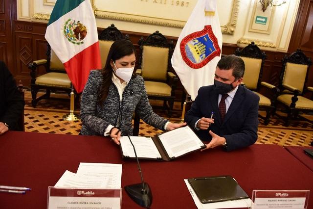 Ayuntamiento de Puebla y gobierno federal impulsarán conectividad