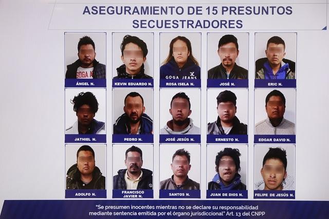 Caen 15 secuestradores que decían ser policías en la zona de Audi