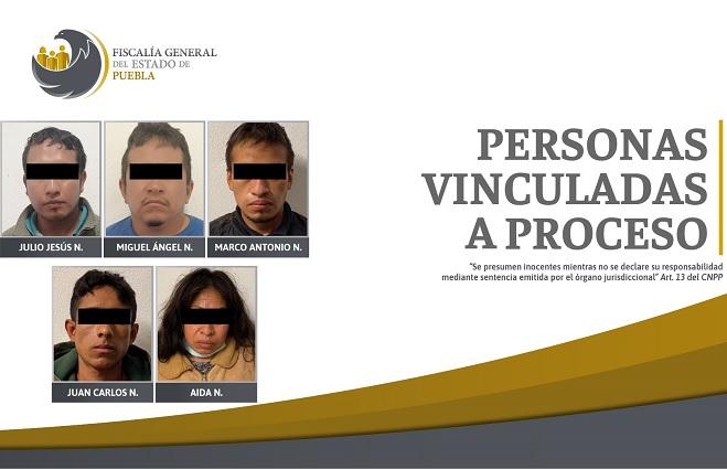 Fiscalía desarticula banda de secuestradores en Hueytamalco
