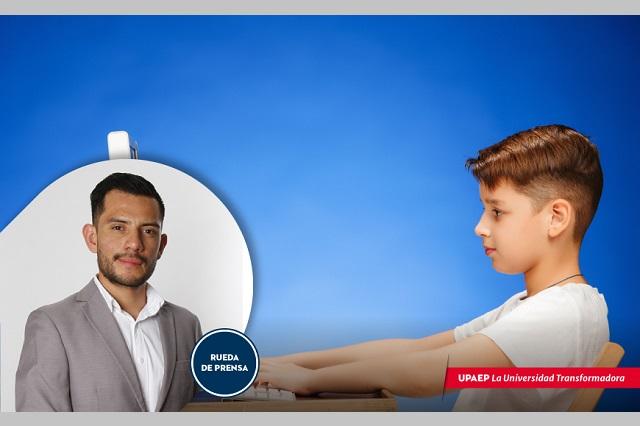 Padres deben vigilar ergonomía de hijos en clases en línea
