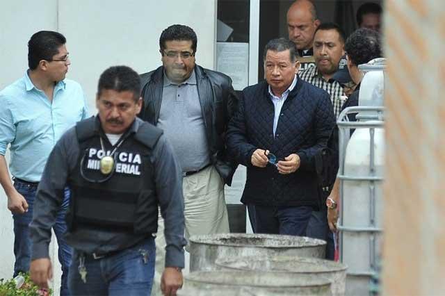 Flavino Ríos es ingresado al penal de Pacho Viejo
