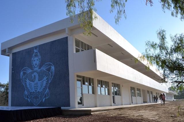 Entregan edificio en nueva sede del Campus Superior Tepeaca BUAP