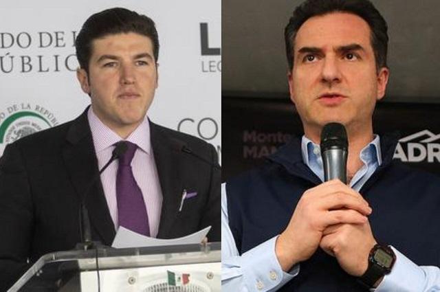 Investigan a candidatos en NL, Adrián de la Garza y Samuel García