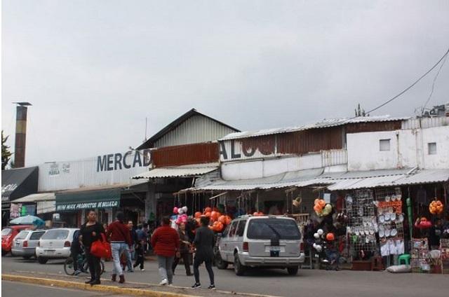 Marcha la 28 de octubre contra obra en mercado de Amalucan