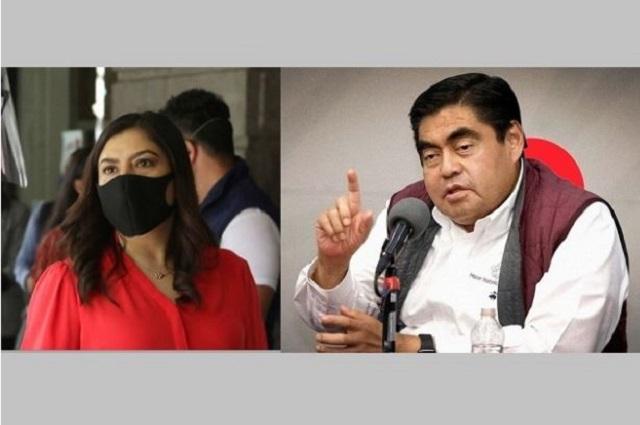 Claudia Rivera pide a Barbosa y Biestro no operar para el PRIAN