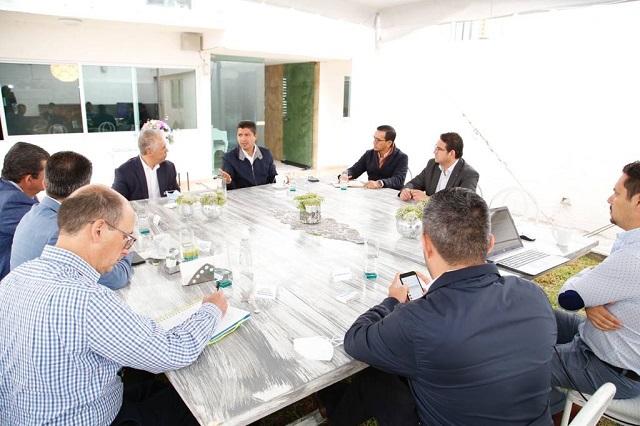 Eduardo Rivera se reunió con CCE y Consorcio Universitario