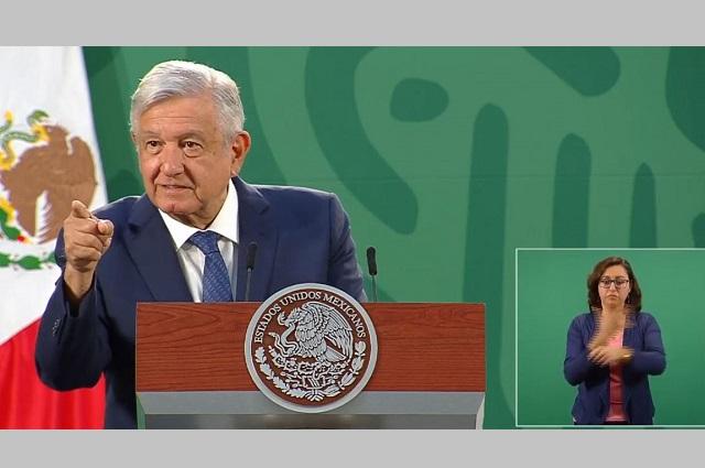 Para productores de Puebla y estados, pagos de Ancira: AMLO