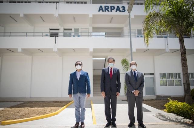 Inaugura Esparza Ortiz nuevo edificio en la Escuela de Artes
