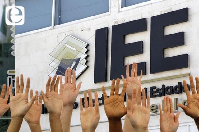 Sobre fallas en el IEE cuestionan a los aspirantes a consejeros