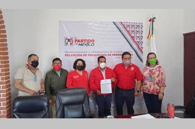 Presenta PRI aspirantes a alcaldías en la zona de Atlixco