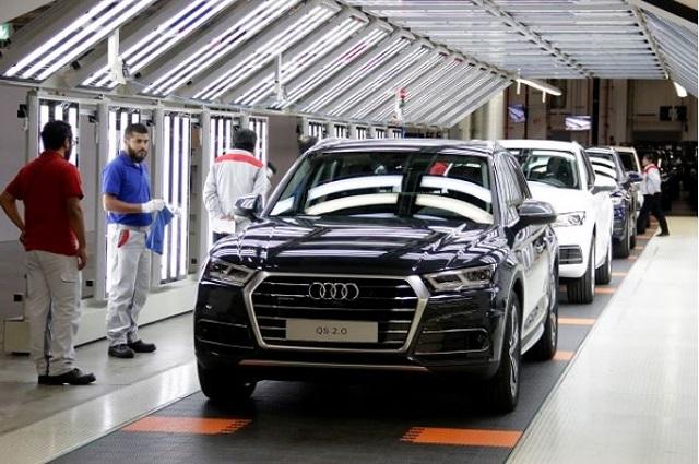 Aumenta Audi 38% ventas mundiales en primer semestre