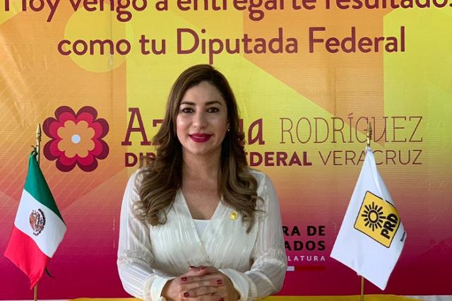 Deja de ser diputada y la acusan en Veracruz de matar a su esposo